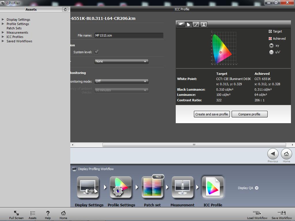 Black Luminance in Calibration - Monitor calibration