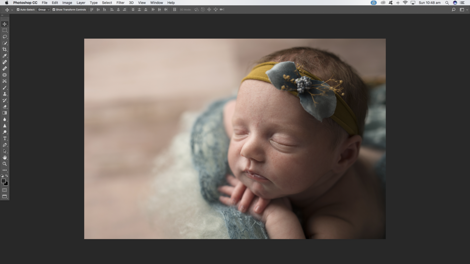 Photoshop CC open file tabs are missing  - Photoshop / Elements
